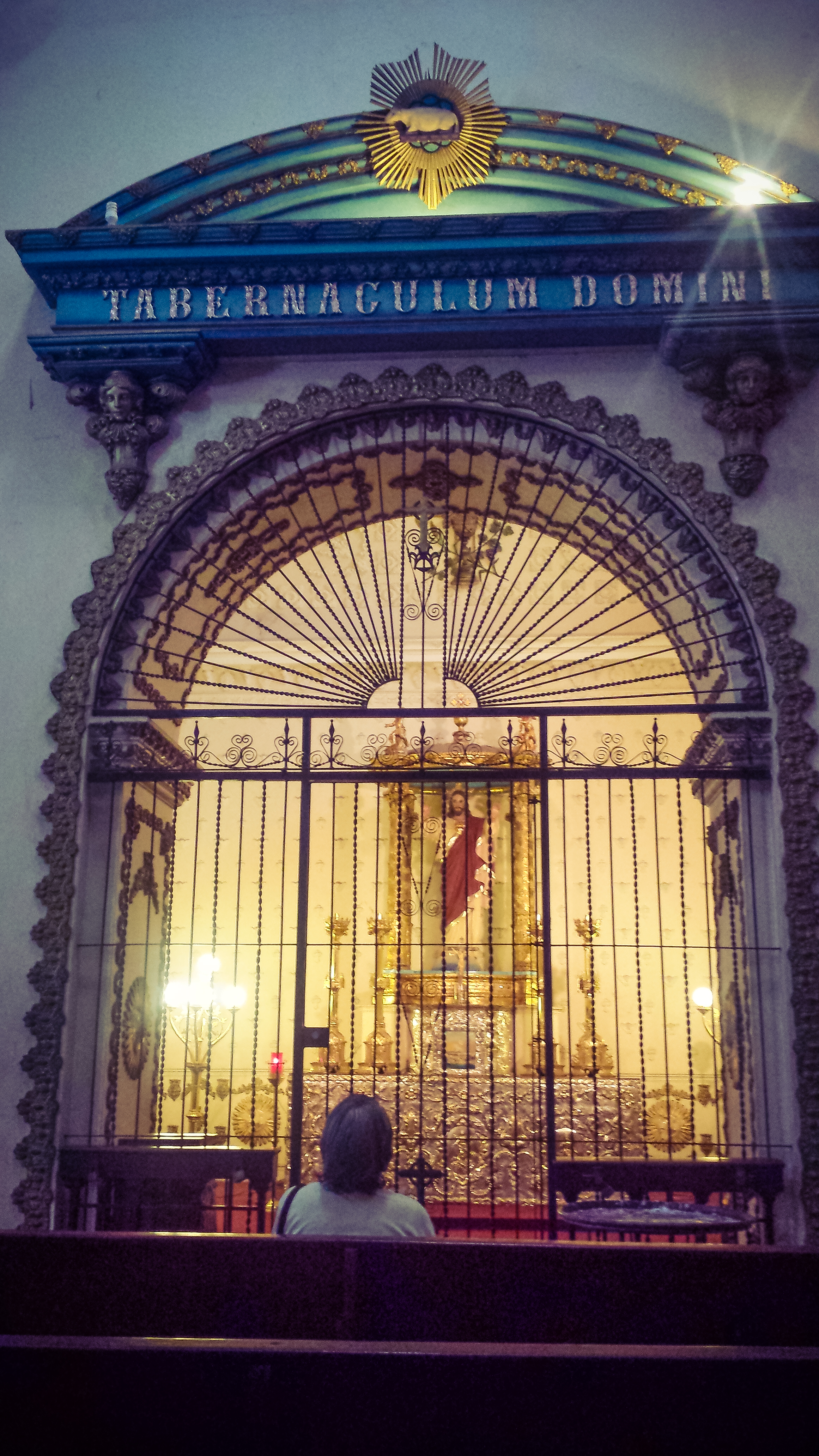 Inside the Old Cathedral