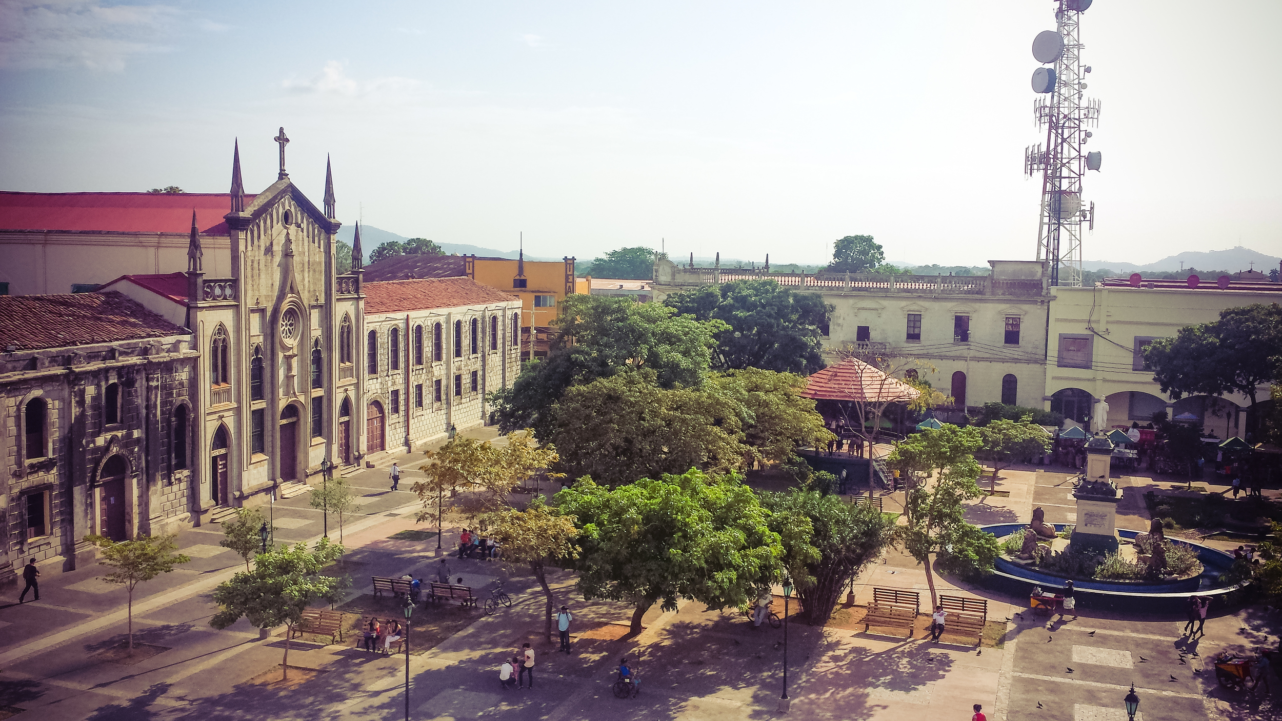 View from the Old Cathedral Roof