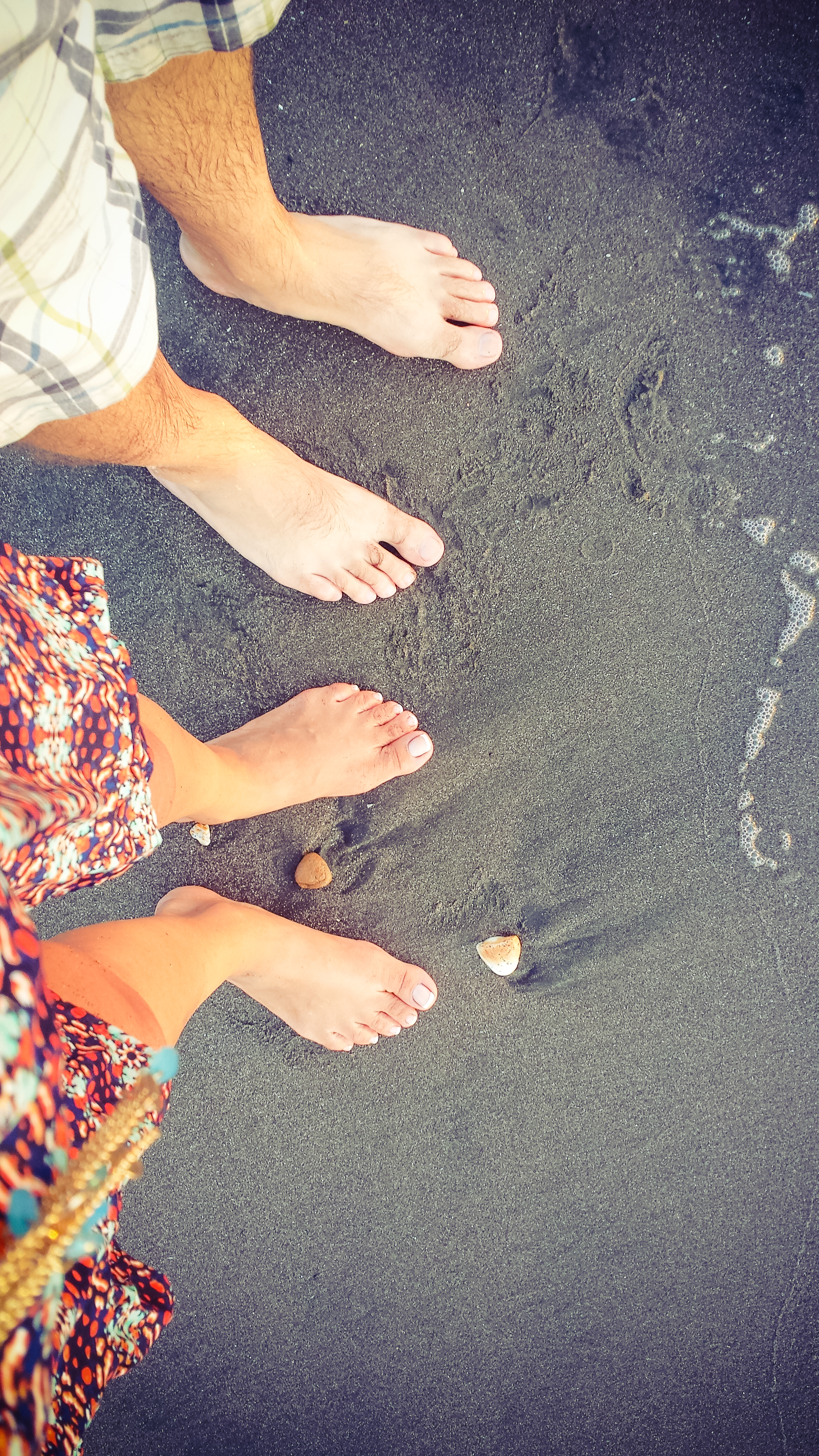 Black Sand at Playa Las Peñitas. Only regret? Wish we cuold have gone in the water. Next time.