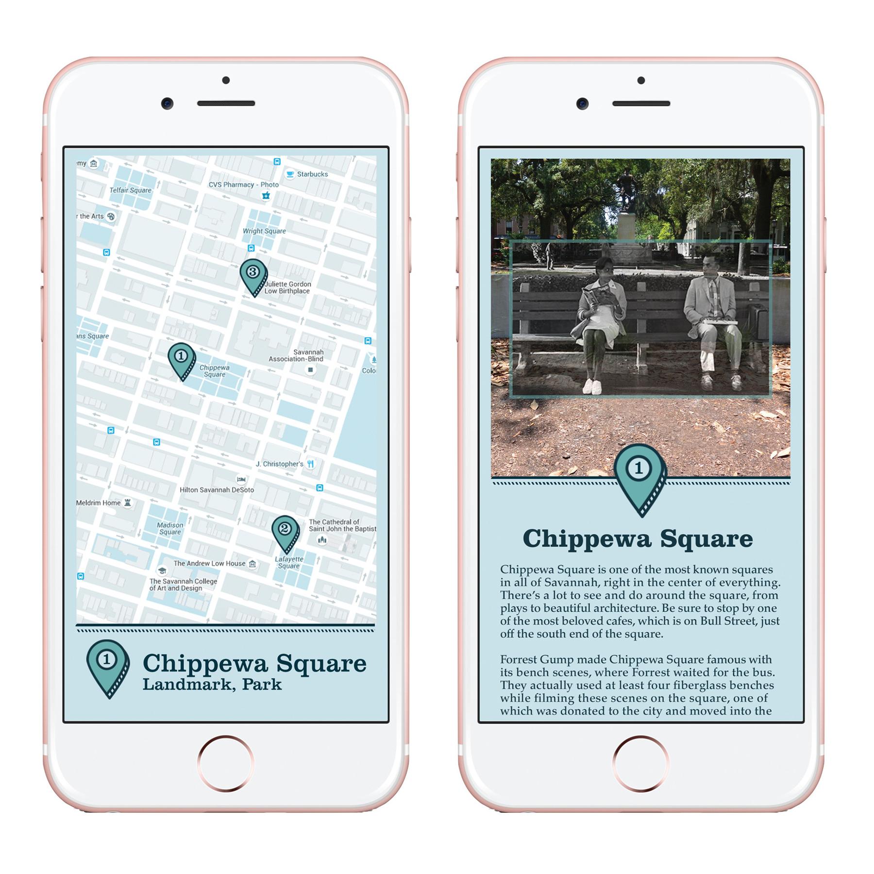 Savannah Tourism App