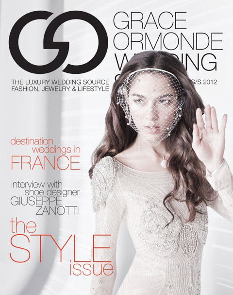 NJ and NYC Boudoir Photographer Cate Scaglione Appeared in Grace Ormond Wedding Style Magazine