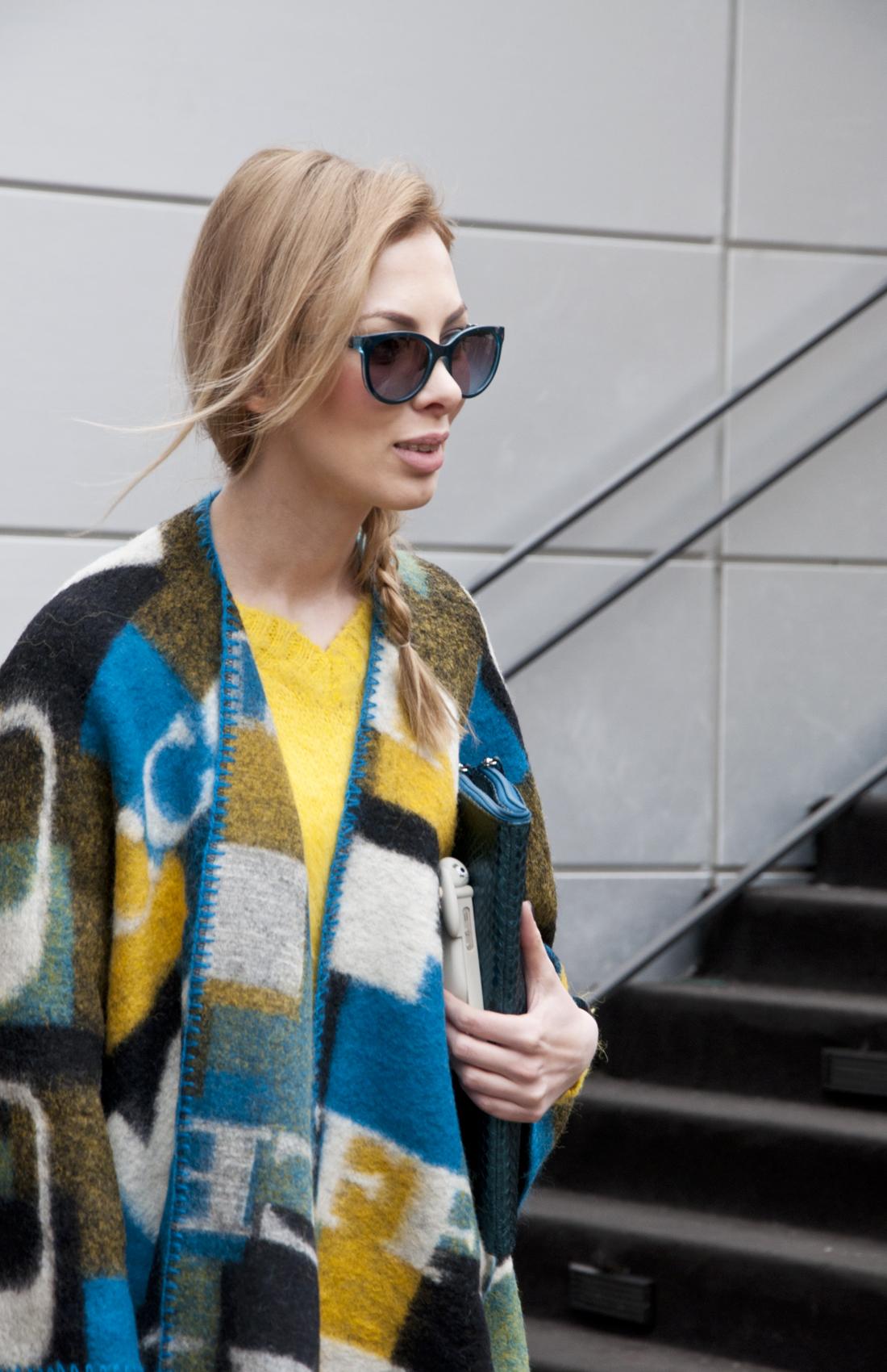 Karolina Gliniecka wearing Vogue eyewear - pretty convinced she's Taylor Swift's long lost twin sister