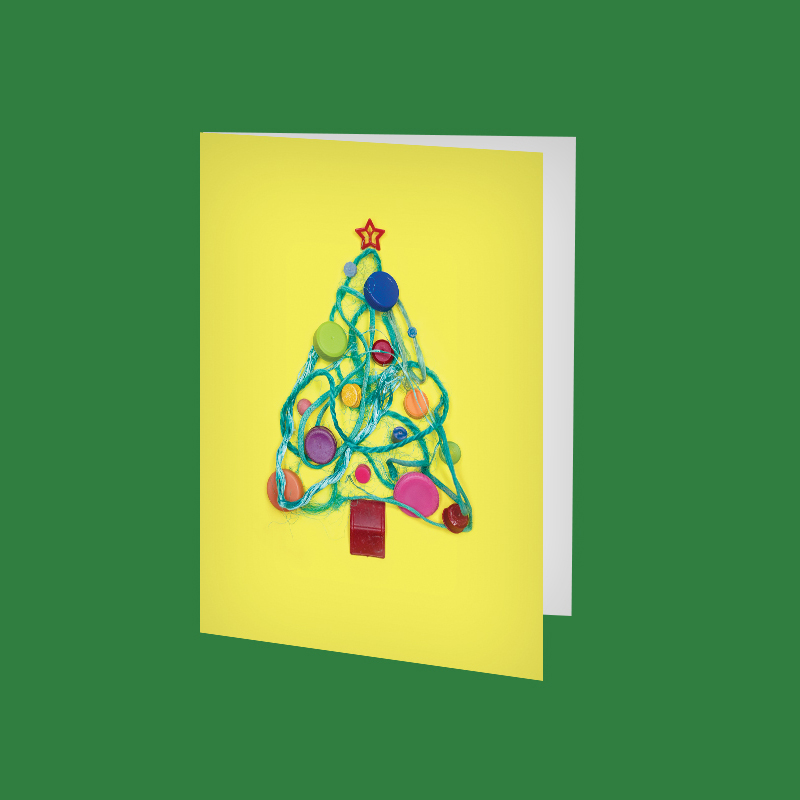 SQ_amy_chen_design_beach_plastic_holiday_christmas_greeting_card_etsy_listing_xmas_tree.jpg