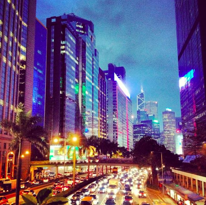 Hong Kong at Night - Fashion Capital of Asia