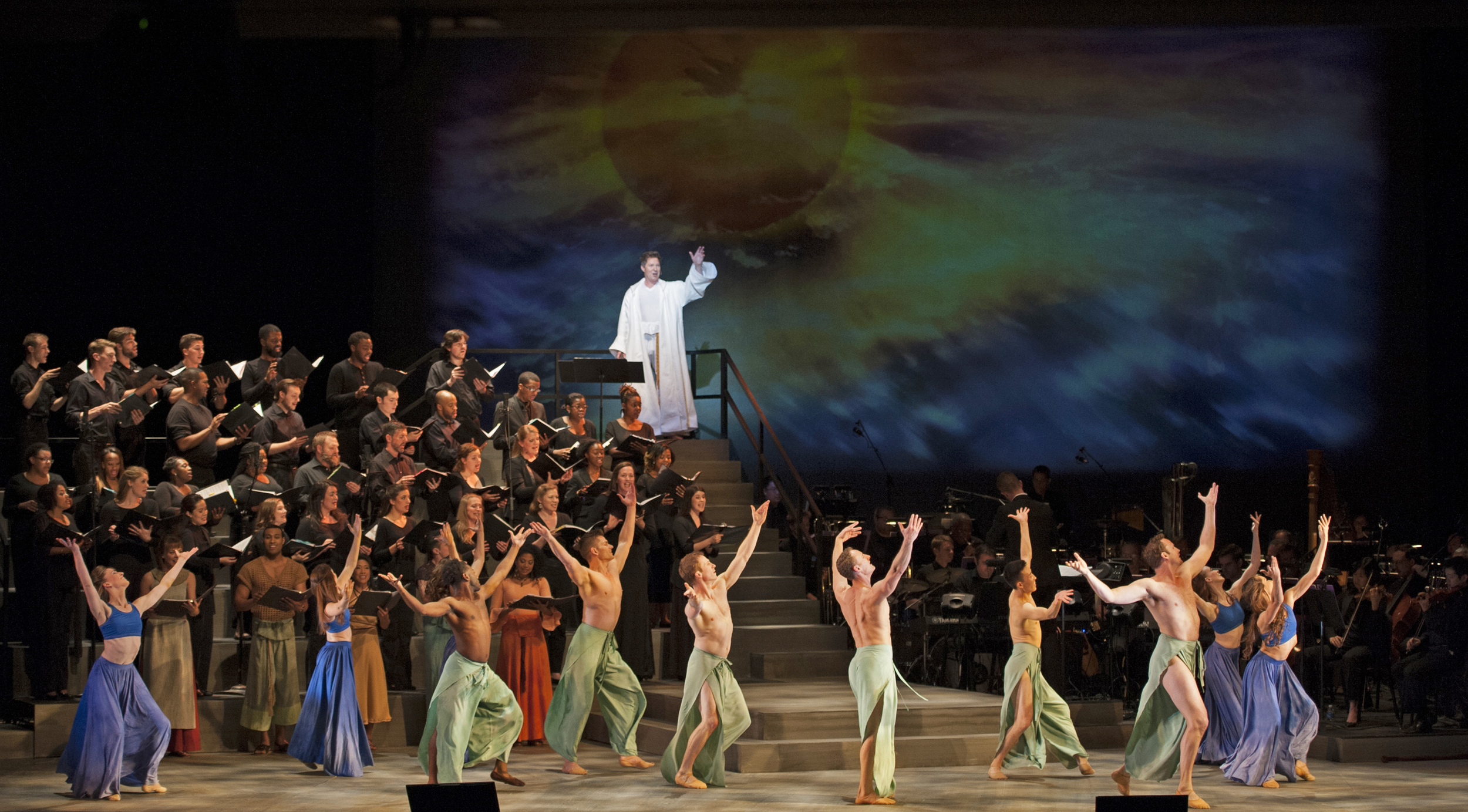 Children of Eden (Lighting & Projection Design)
