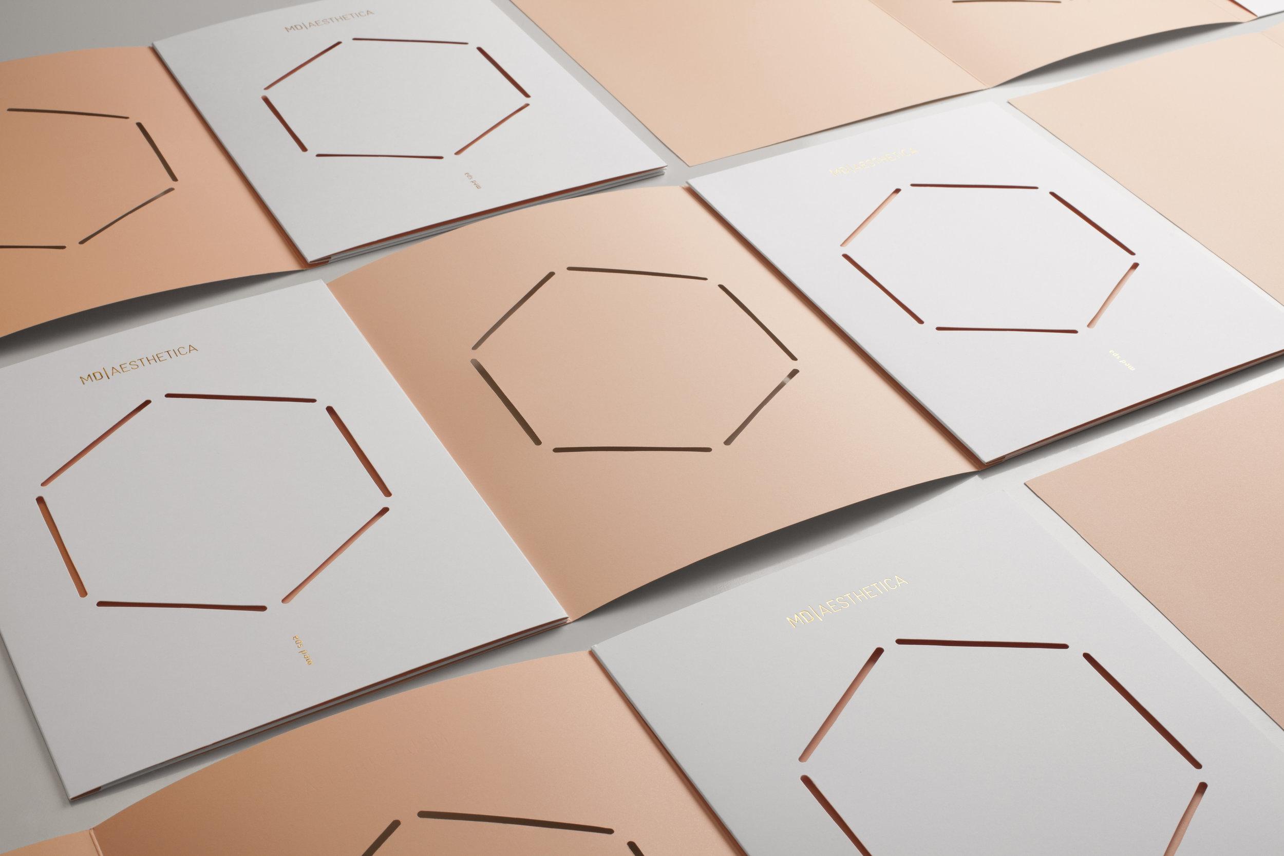 La Tortilleria. MD Aesthetica. White & Nude Folders.