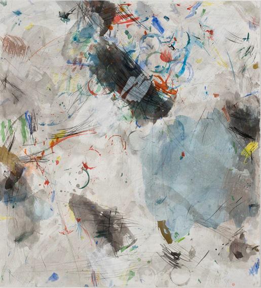 (09) Robert Savoie -½Masa Kodo-+ (1981) aquarelle  min+®rale japonaise sur papier (106cm x 96cm).jpg