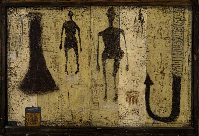 (2017) Marc Leduc «Vingt-six» (1998) technique mixte sur bois (92cm x 132cm).jpg