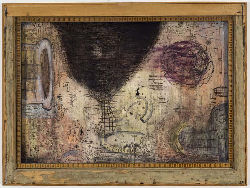 (ERP) Marc Leduc «Clavicule» (2000) technique mixte sur bois (71cm x 94cm).jpg