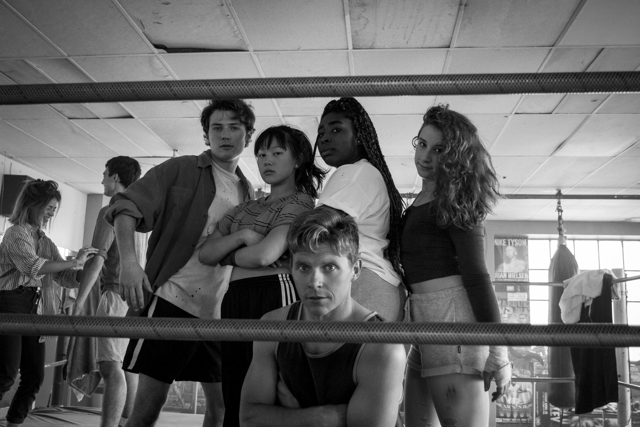 Nick Sinclair, Yerin Ha, Mark Hill, Chika Ikogwe, Devon Campbell | Photo by Zelman Cressey-Gladwin