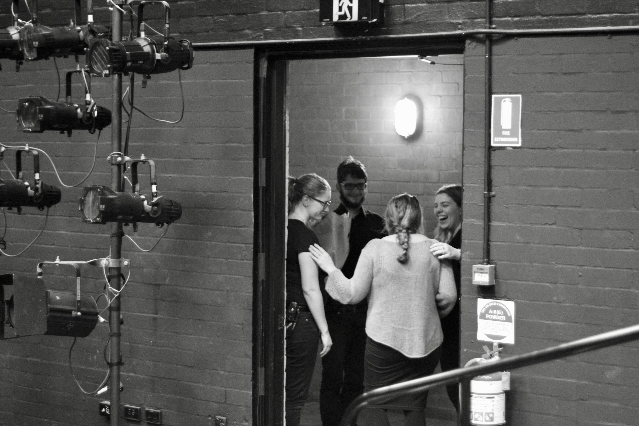 Stage Management - Love and Money, NIDA 2017 - photo by Anna McGrath