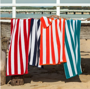 Beach Towels for hire in Noosa.  82cm x 160cm