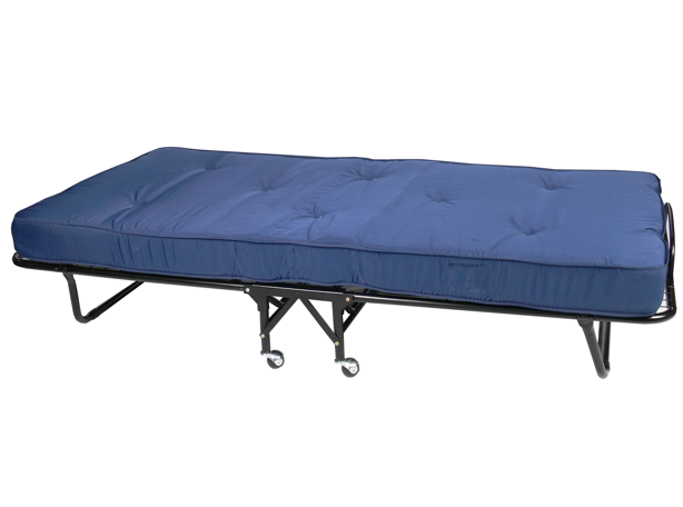 Folding Beds with Inner Spring Mattress's for hire in Noosa