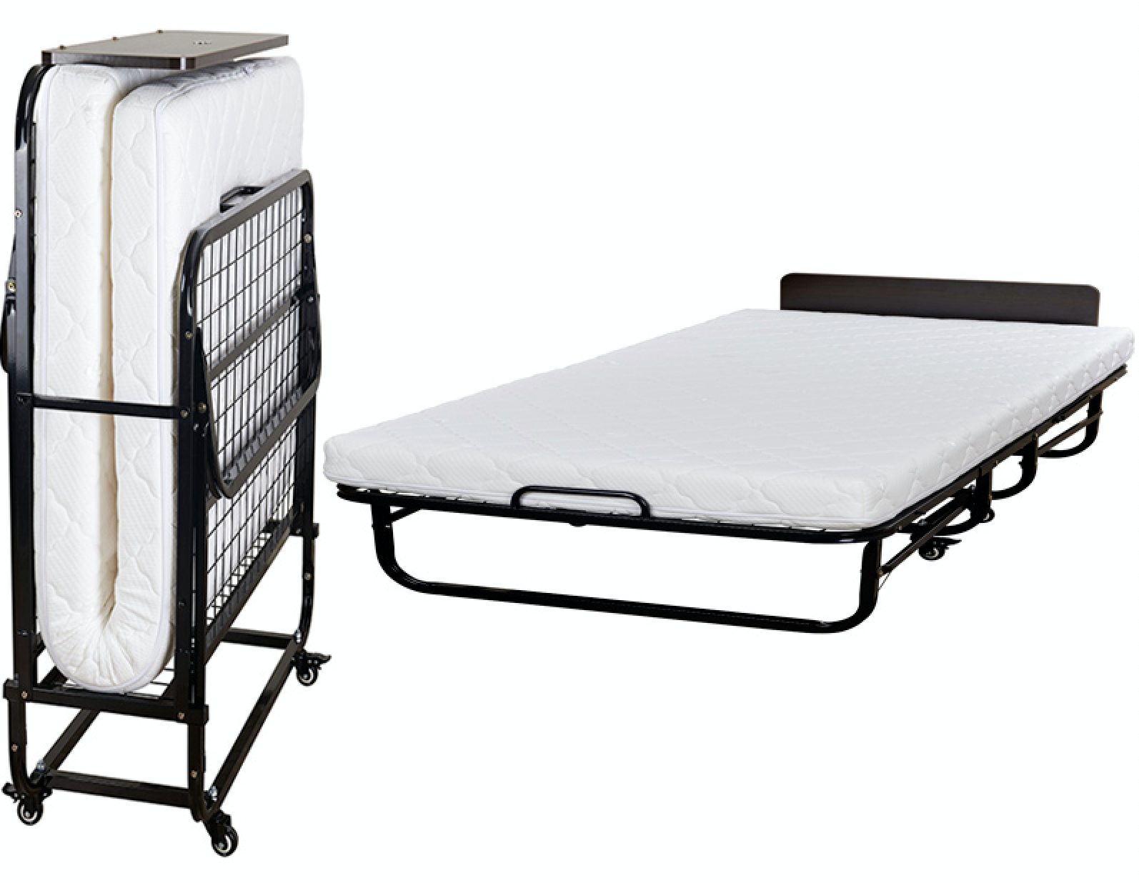 Deluxe Folding Bed with Inner Spring Mattress.png