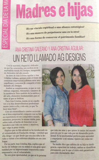 Mother and Daughter, Designers
