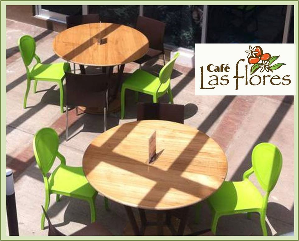 The opening of the new Café Las Flores, chair contracted by CF+ Design Center Nicaragua
