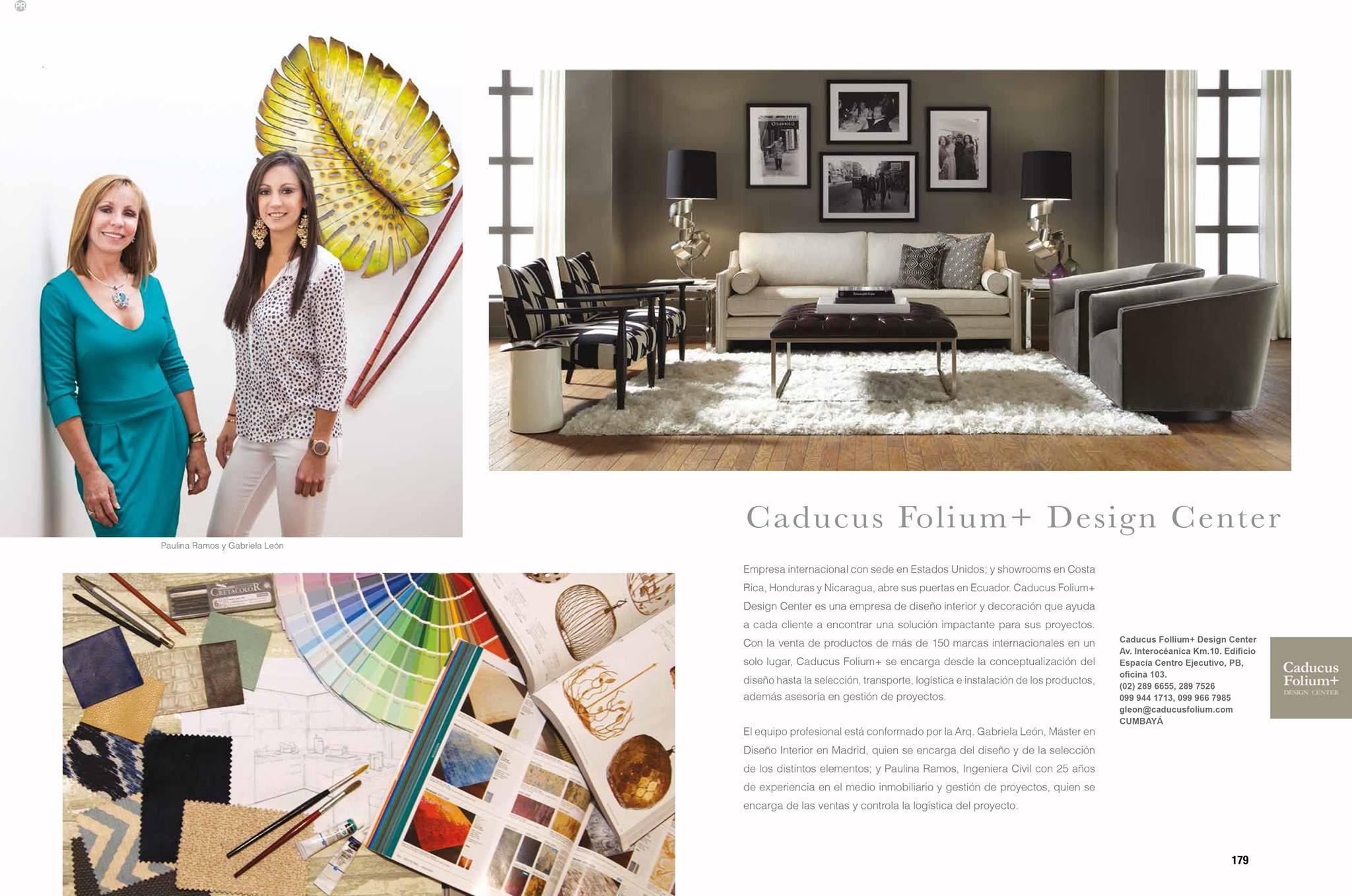 Caducus Folium+ Ecuador en Revista Clave