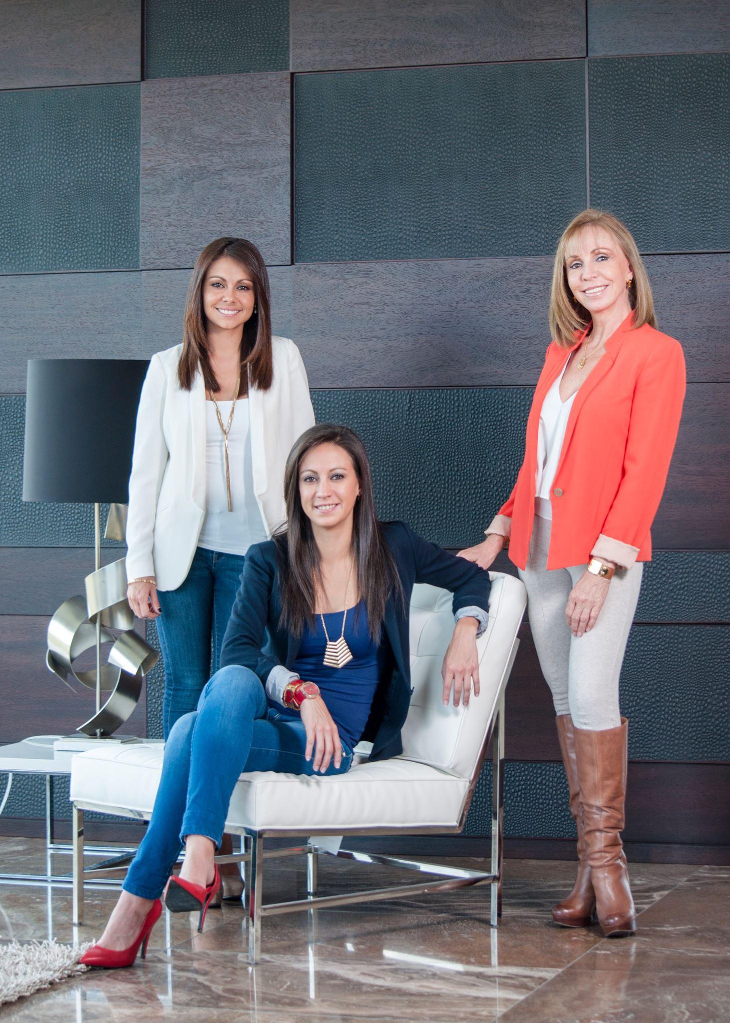 Mili Leon, Gabriela Leon, and Paulina Ramos