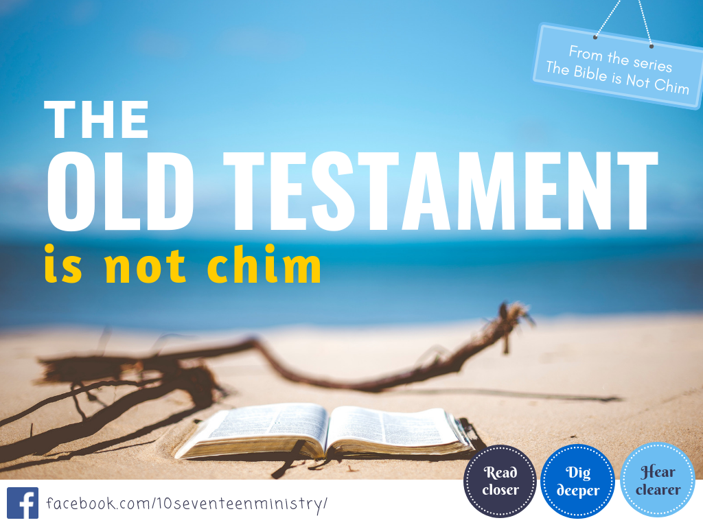 Old Testament is not chim - 2019 poster.png