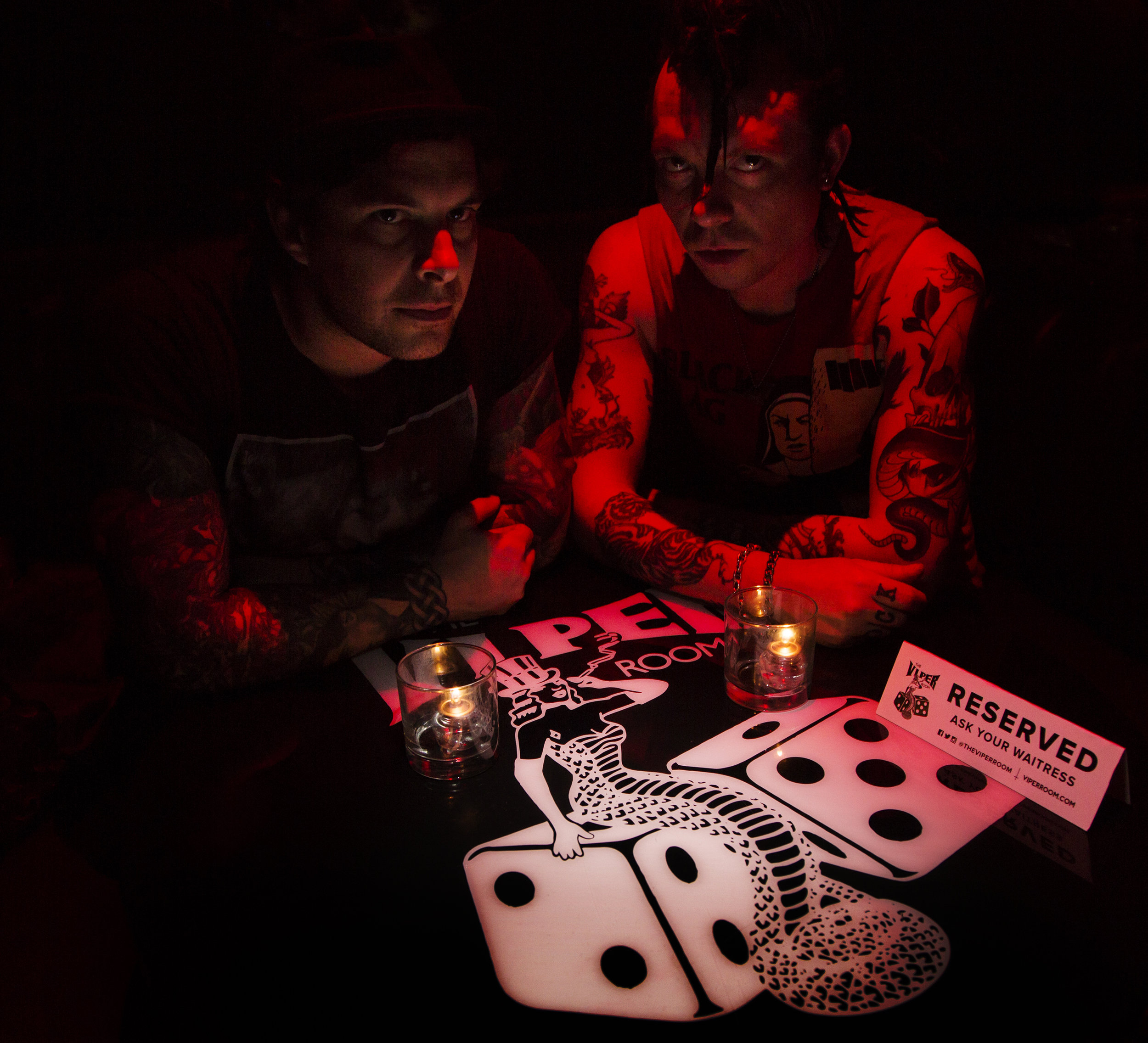 Photo by Rob Berezowski taken at the Viper Room, Los Angeles.