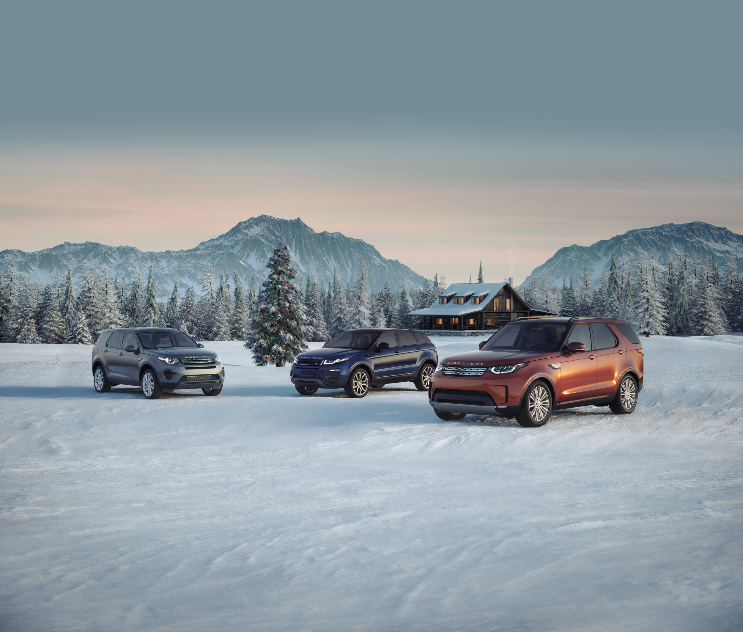 Land Rover Vehicle CGI environment by The Good Guys at Curve. Vehicle images by M&P Curtet,