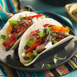 GRILLED NZ LAMB & VERDI TACOS
