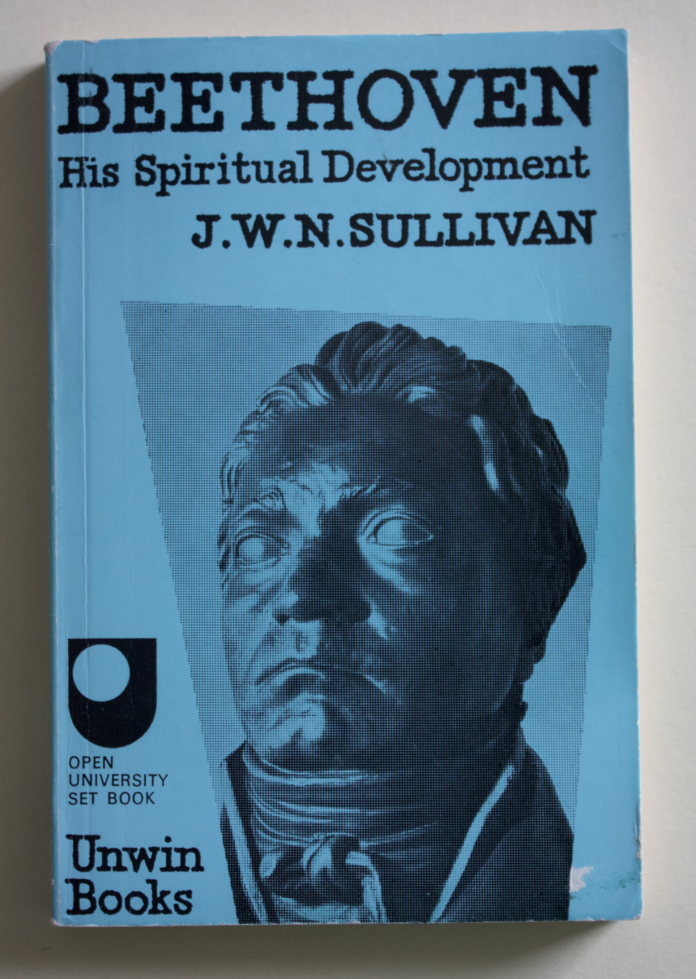 "Copy of ""Beethoven: His Spiritual Development"" by J. W. N. Sullivan (Unwin Books, 1975)"