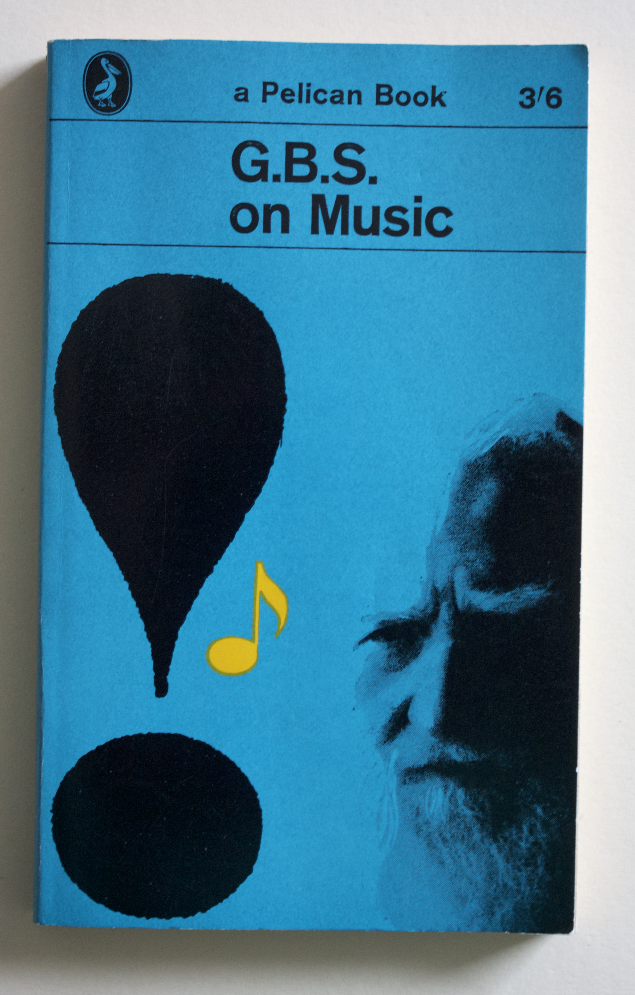 "Copy of ""G.B.S. on Music"" by George Bernard Shaw (Penguin Books, 1962)"