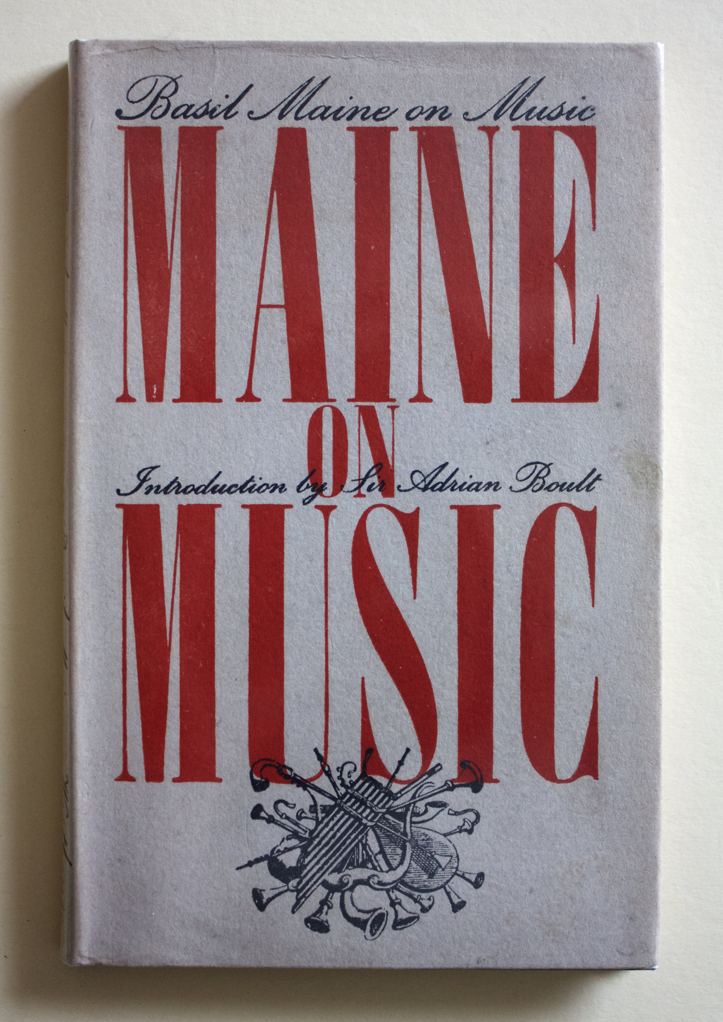 "Copy of ""Maine on Music: Basil Maine on Music"" by Basil Maine (John Westhouse, 1945)"