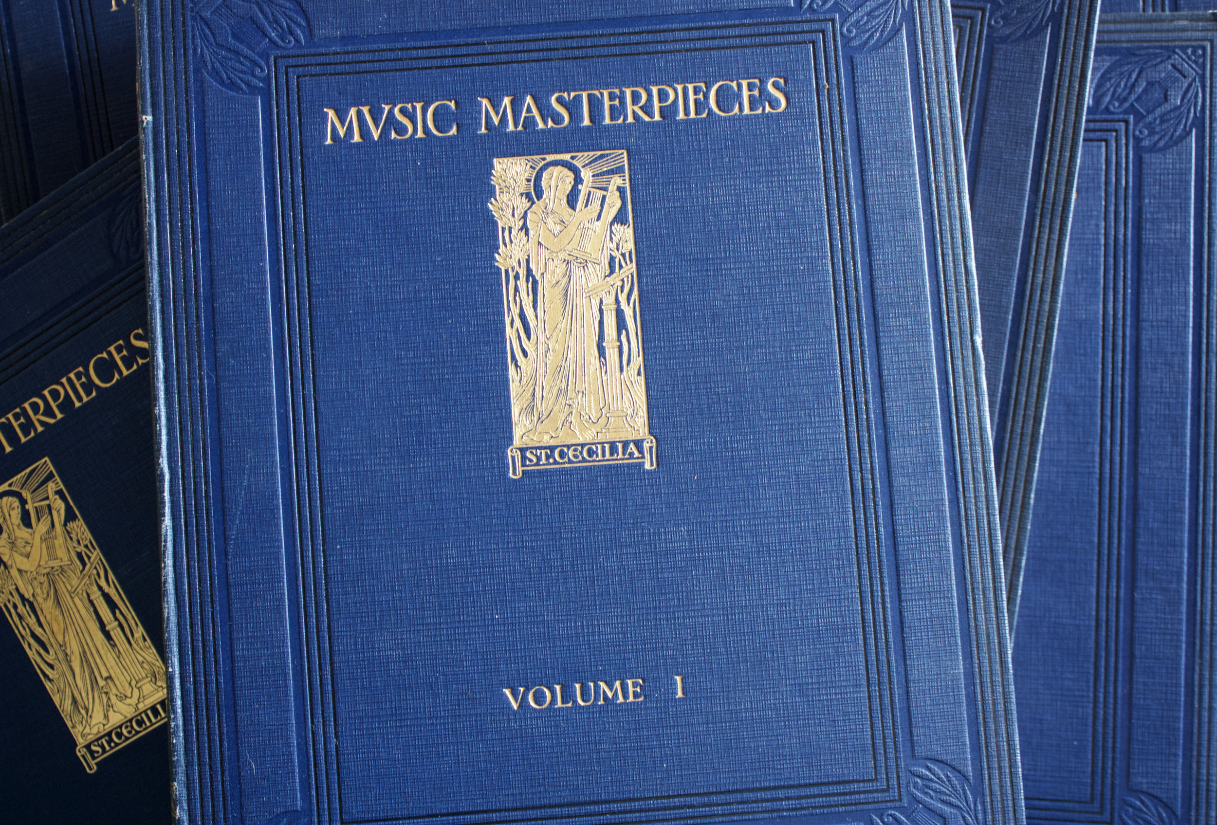 "Copy of ""Music Masterpieces: Gems from the World's Famous Operas and Musical Plays"" (in 6 volumes) edited by Percy Pitt (Educational Book Co. Ltd.)"