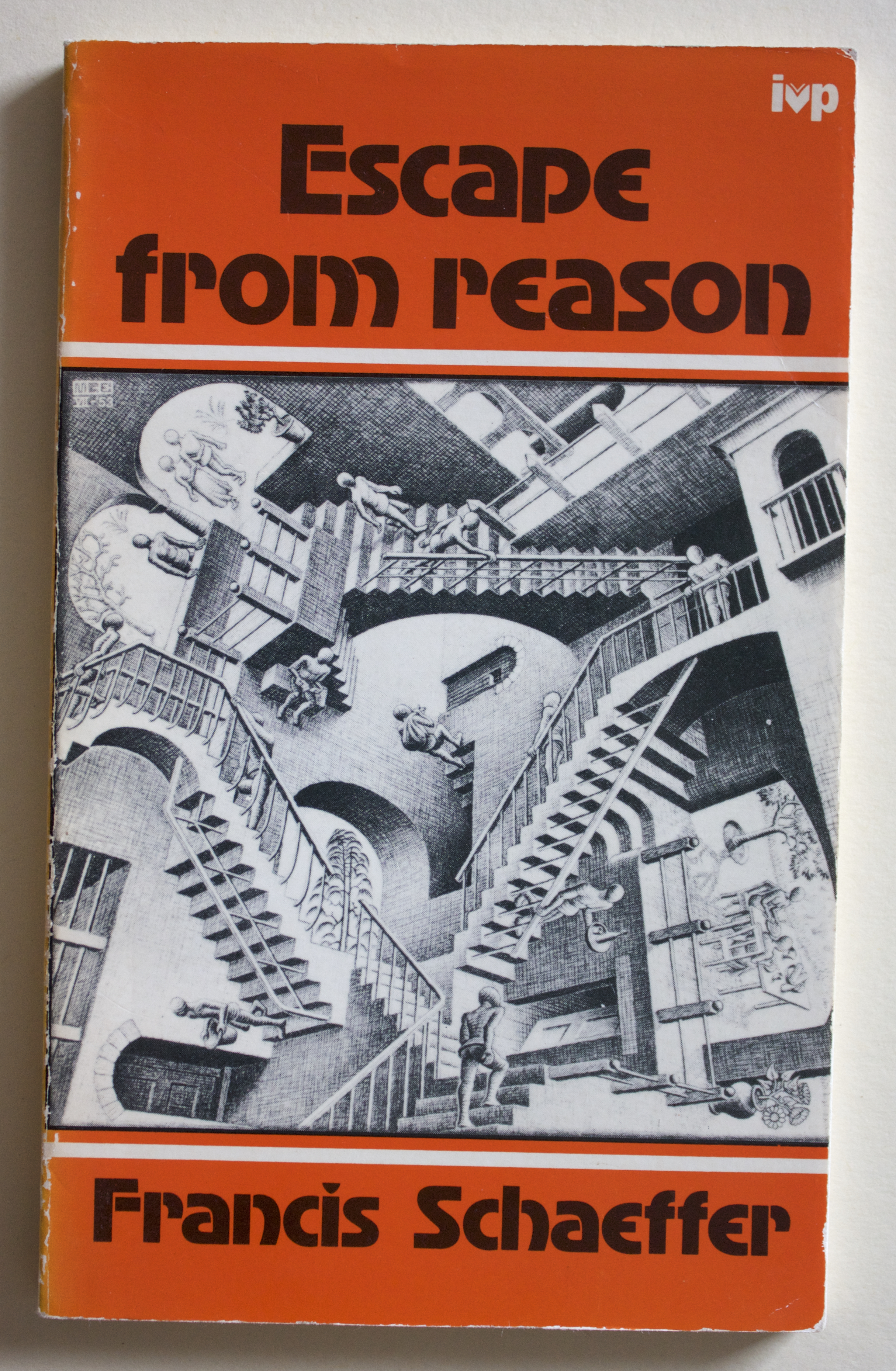 "Copy of ""Escape from Reason"" by Francis Schaeffer (Inter-Varsity Press, 1968)"