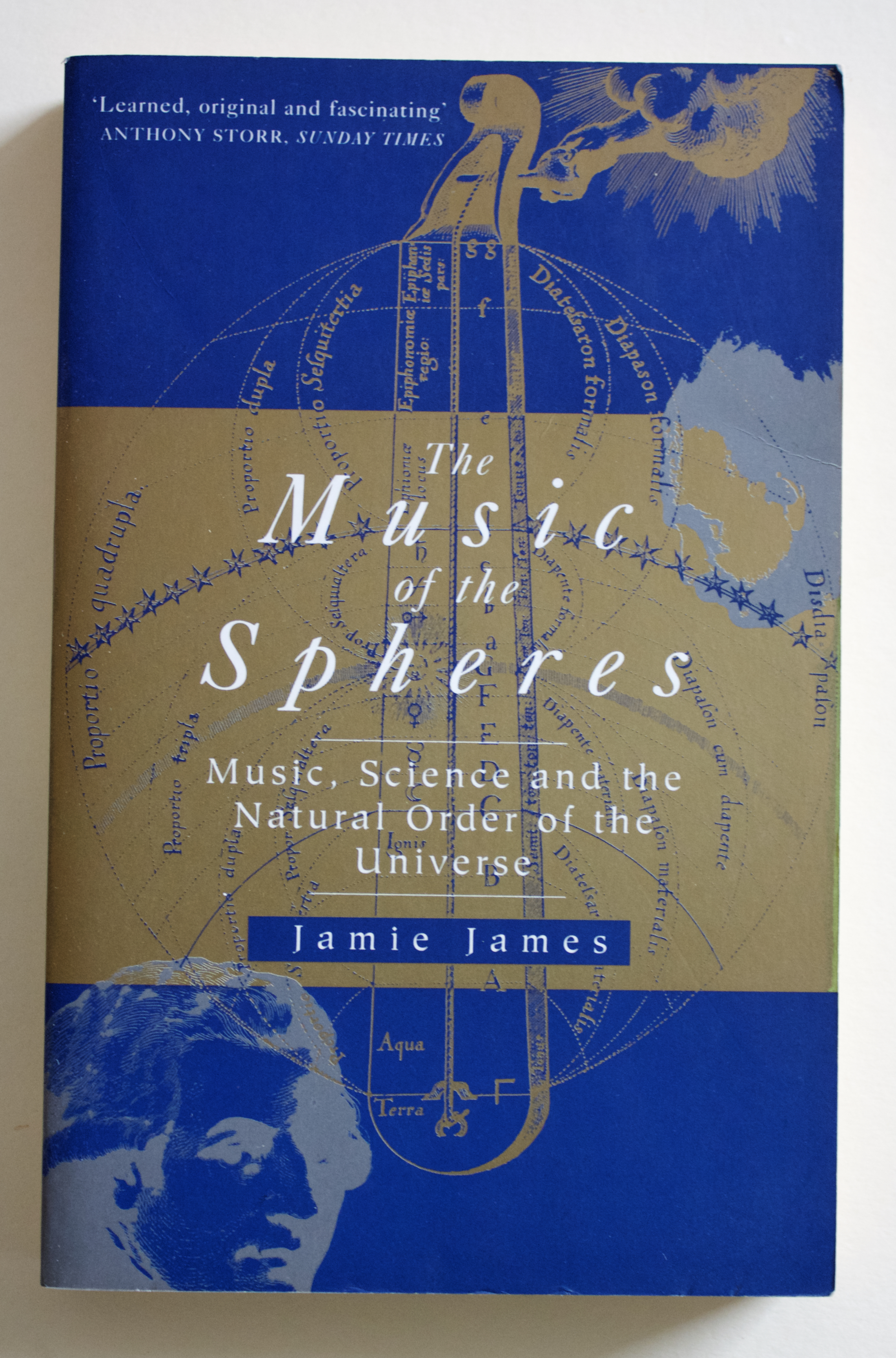 "Copy of ""The Music of the Spheres: Music, Science and the Natural Order of the Universe"" by Jamie James (Abacus, 1995)"