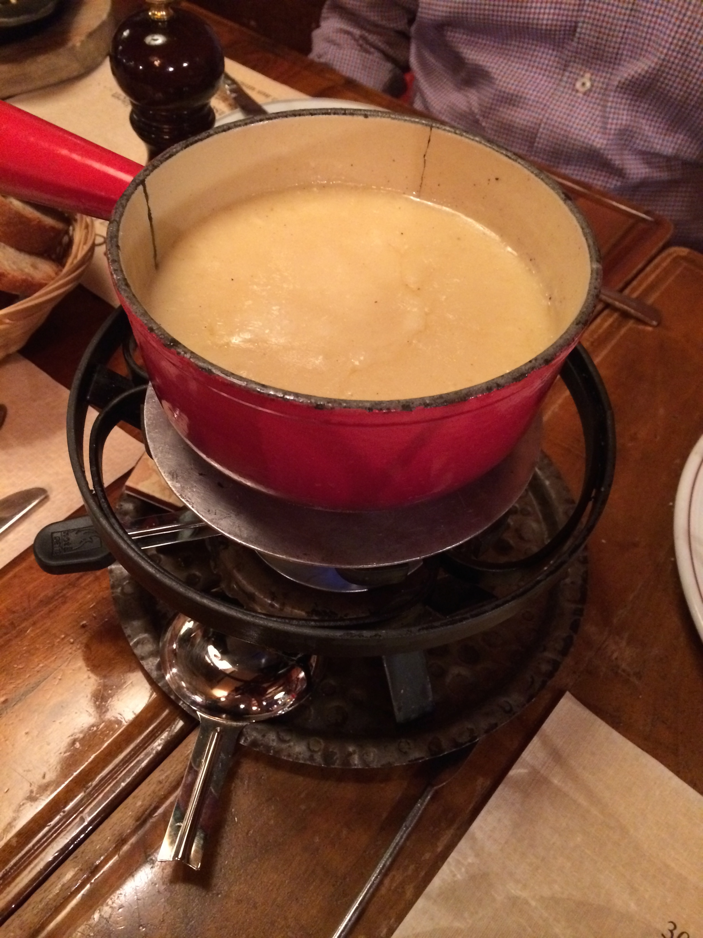 Our first fondue