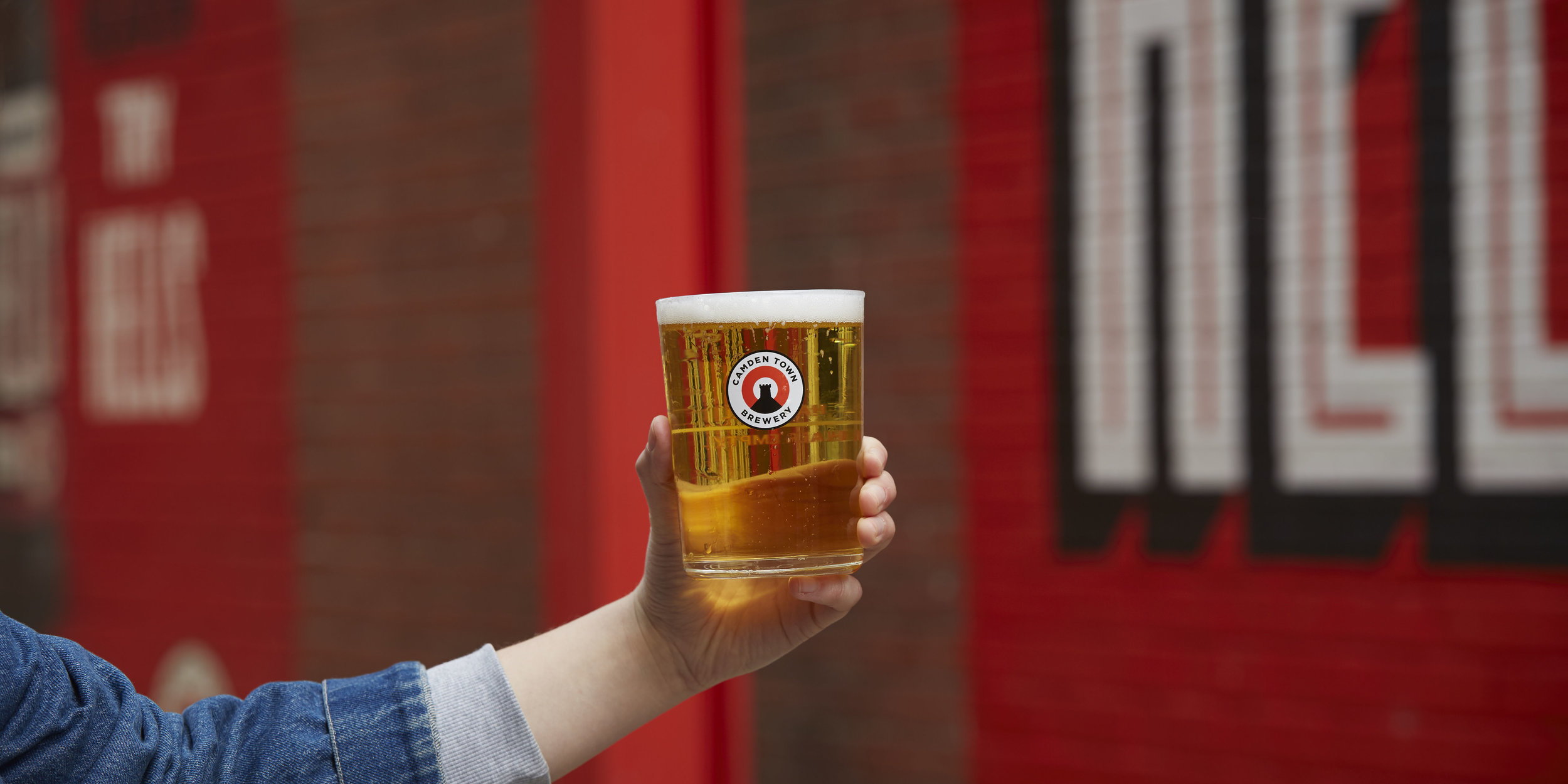Jack Glass - Camden Town Brewery // 2018A dependable drinking glass for everyday, anytime use. A versatile vessel for any Camden Town Brewery beer you'd serve in a pint measure.'Jack' brings a new shape to the traditional straight-sided pint glass with lower, wider proportions.