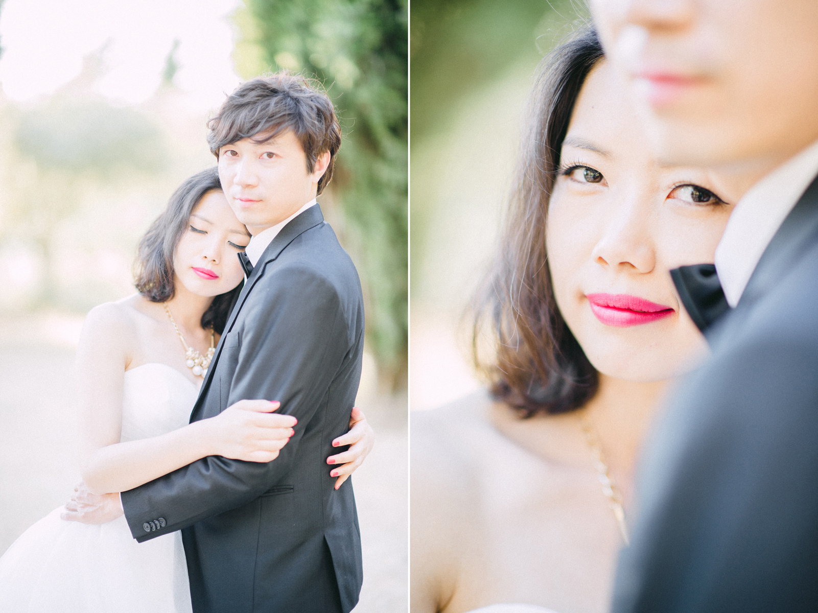 Boheme Moon Fine Art Wedding Photography - Pre-Wedding engagement session in Provence, France