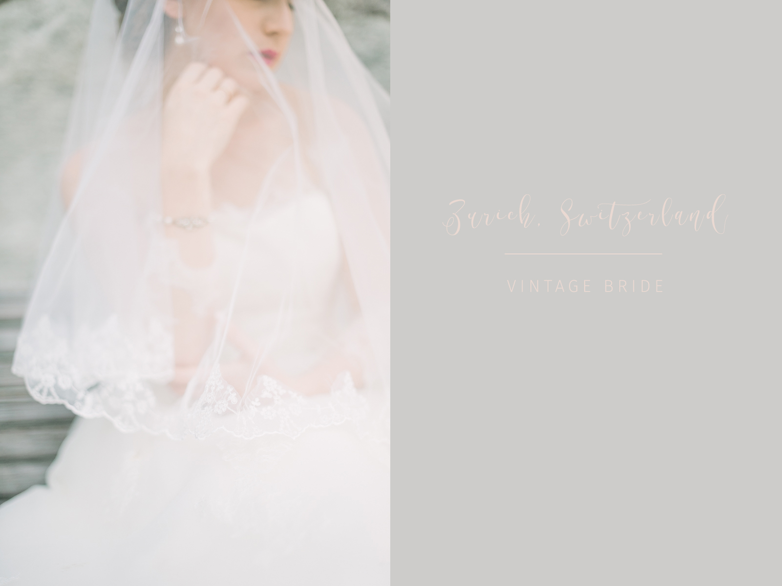 Boheme Moon Fine Art Wedding Photography - Bridal Portraits in Zurich, Schweiz