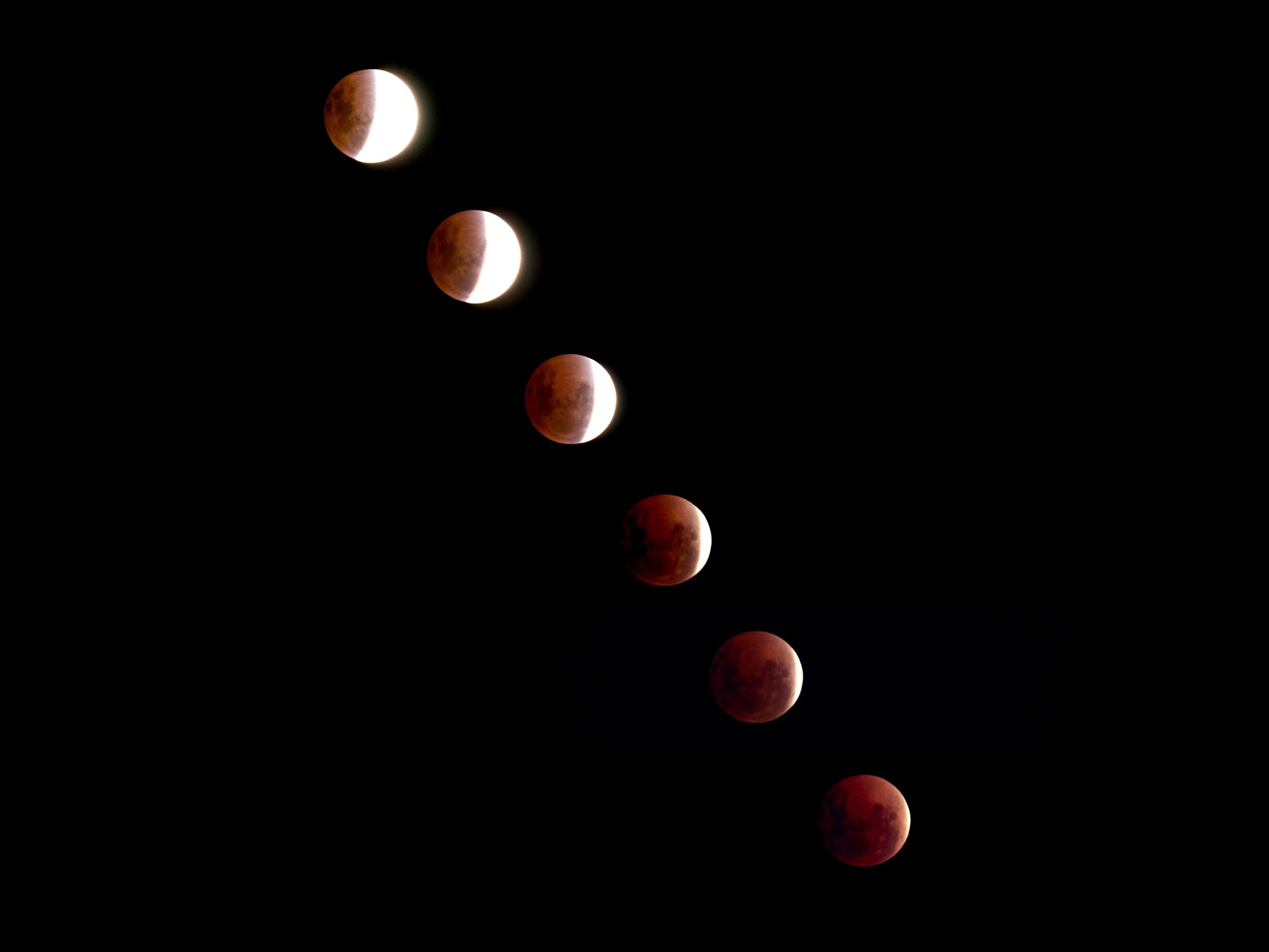 Blood Moon - April 15, 2014.