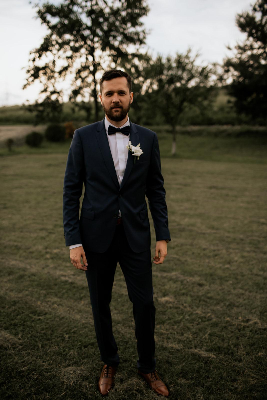 Groom's suit - ConsiglieriTudor Tailors
