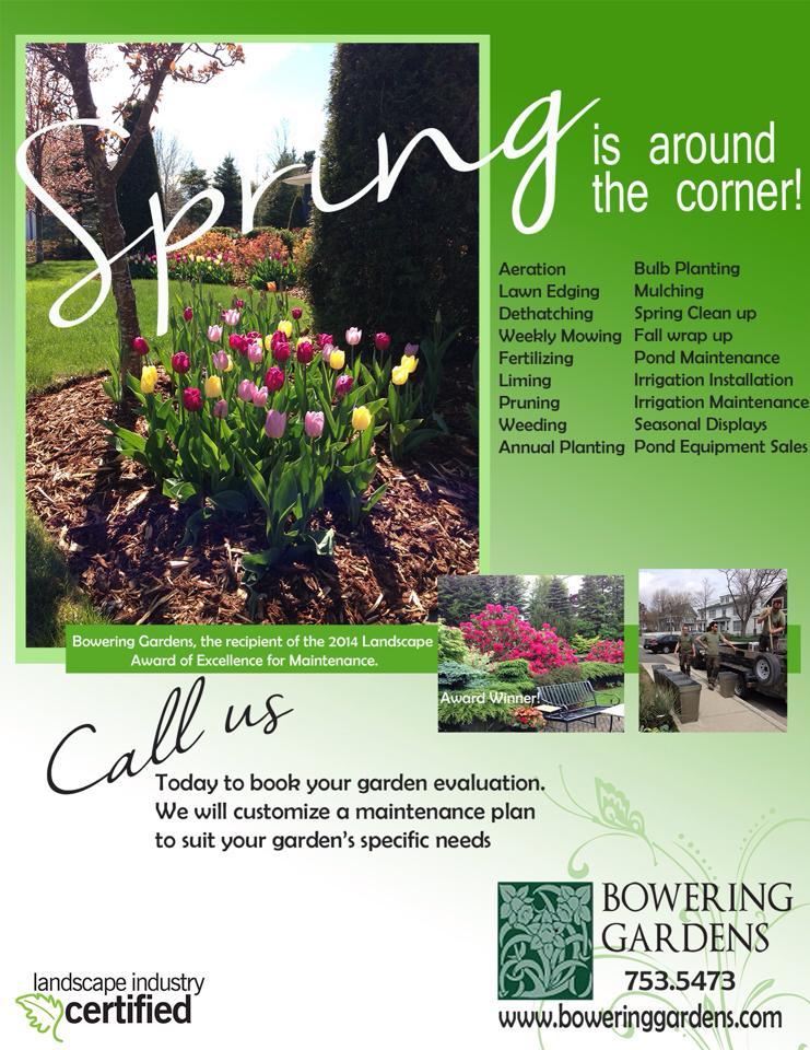 Spring is around the corner - maintenance