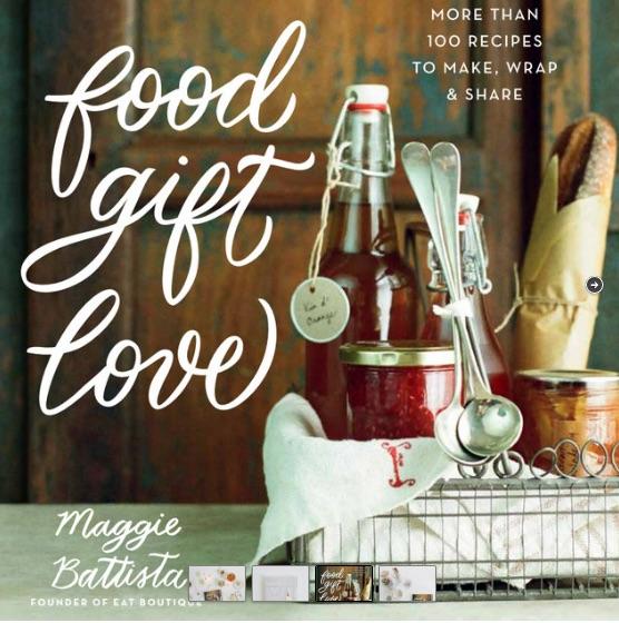 Food gift love by Maggie Battista