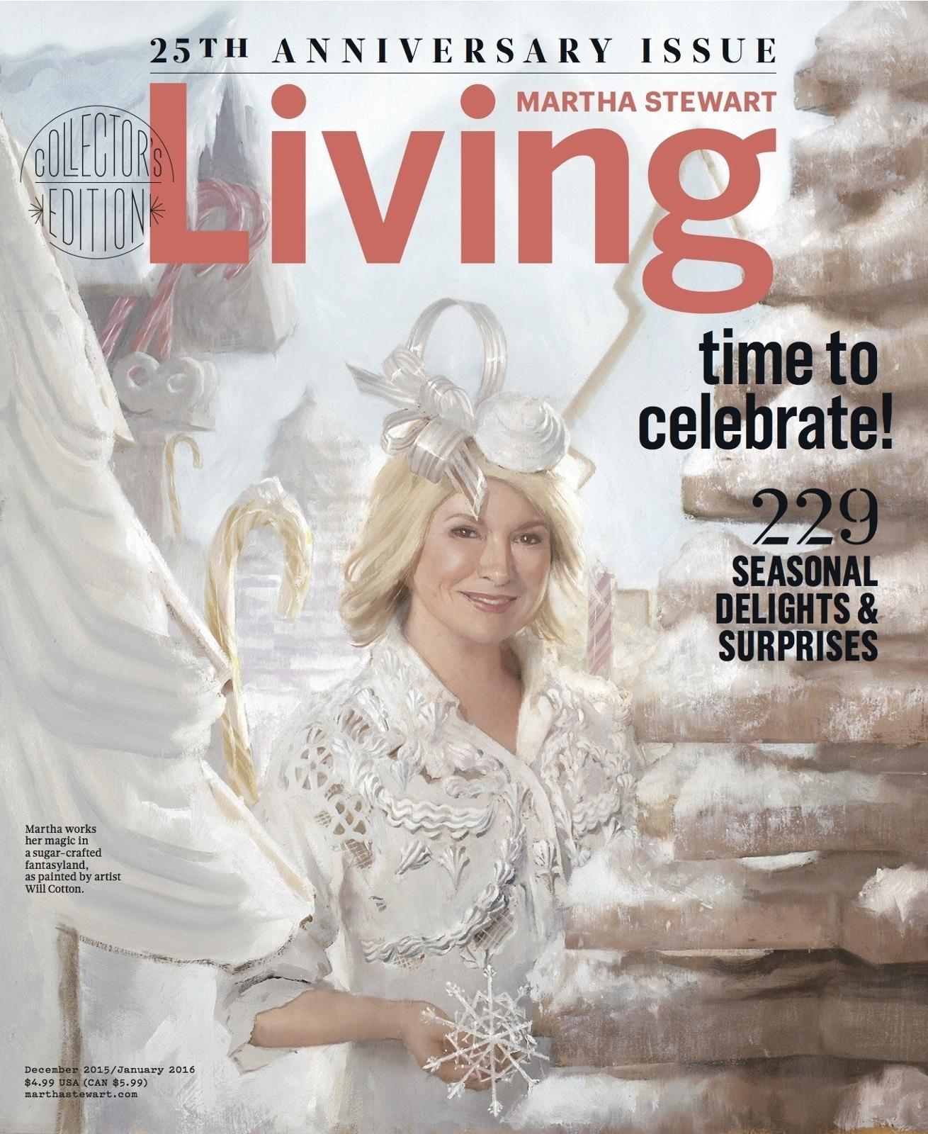Martha Stewart Living December 2015