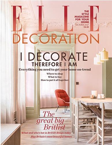 Elle Decoration UK - October 2017