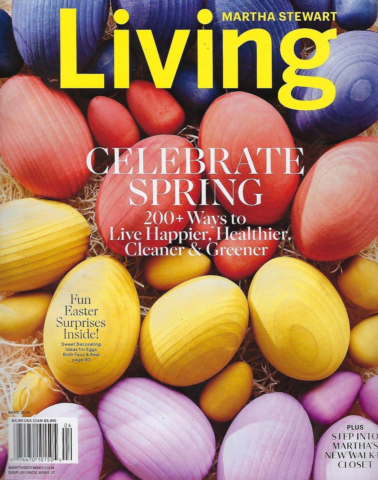Martha Stewart Living - April 2018