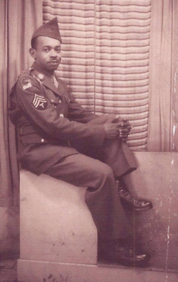 Augustus Freer in his WWII uniform, c. 1942
