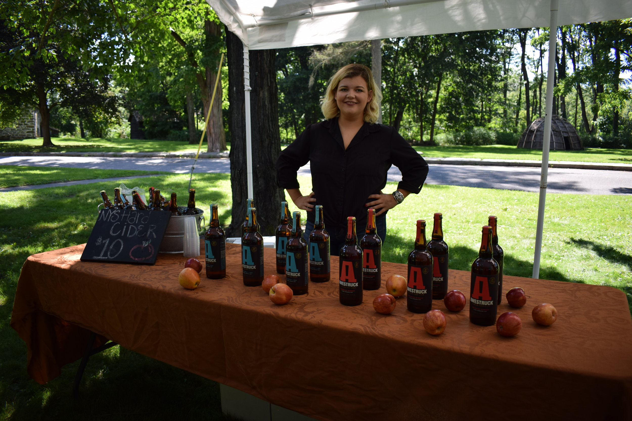 A hard cider tasting with Awestruck Ciders