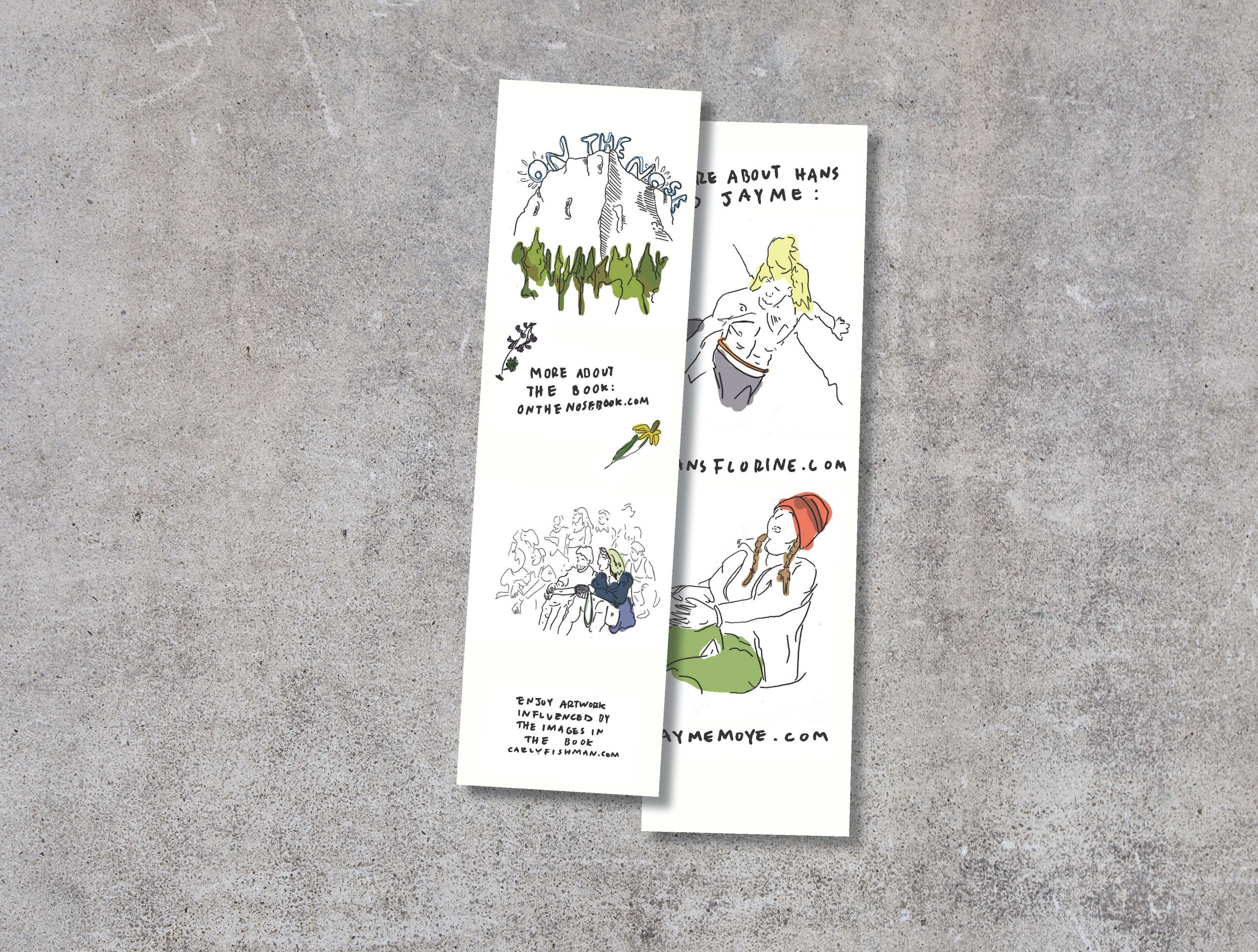 Hans Florine: On The Nose Bookmark