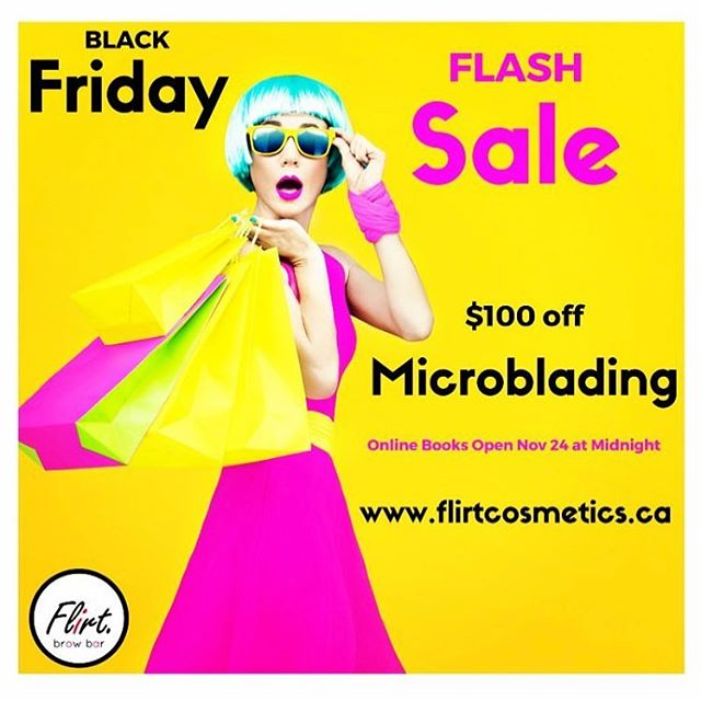 Are you READY??!! BLACK FRIDAY books open November 24, 2017 at midnight for ONE DAY ONLY. $100 off! Set reminders in your calendars ladies, you don't want to miss this! 🙌🏻💃🏻💥🥂🎉 link in bio. . #microbladingworldwide #microbladingworld #microblading #microbladedbrows #microbladingyyc #yycmicroblading #calgarymicroblading #yycbrows #yycbrowsonpoint #yycbrowgame #yycmicropigmentation #calgarymicropigmentation #browcorrection #browgame #browworld #semipermanentbrows #yycsemipermanentmakeup #yycsemipermanentbrows #abhbrows #kbb #abh #kellybakerbrows #desiperkins #chrisspy #beautycon #beautyworld #tinadavies #harmonyblades