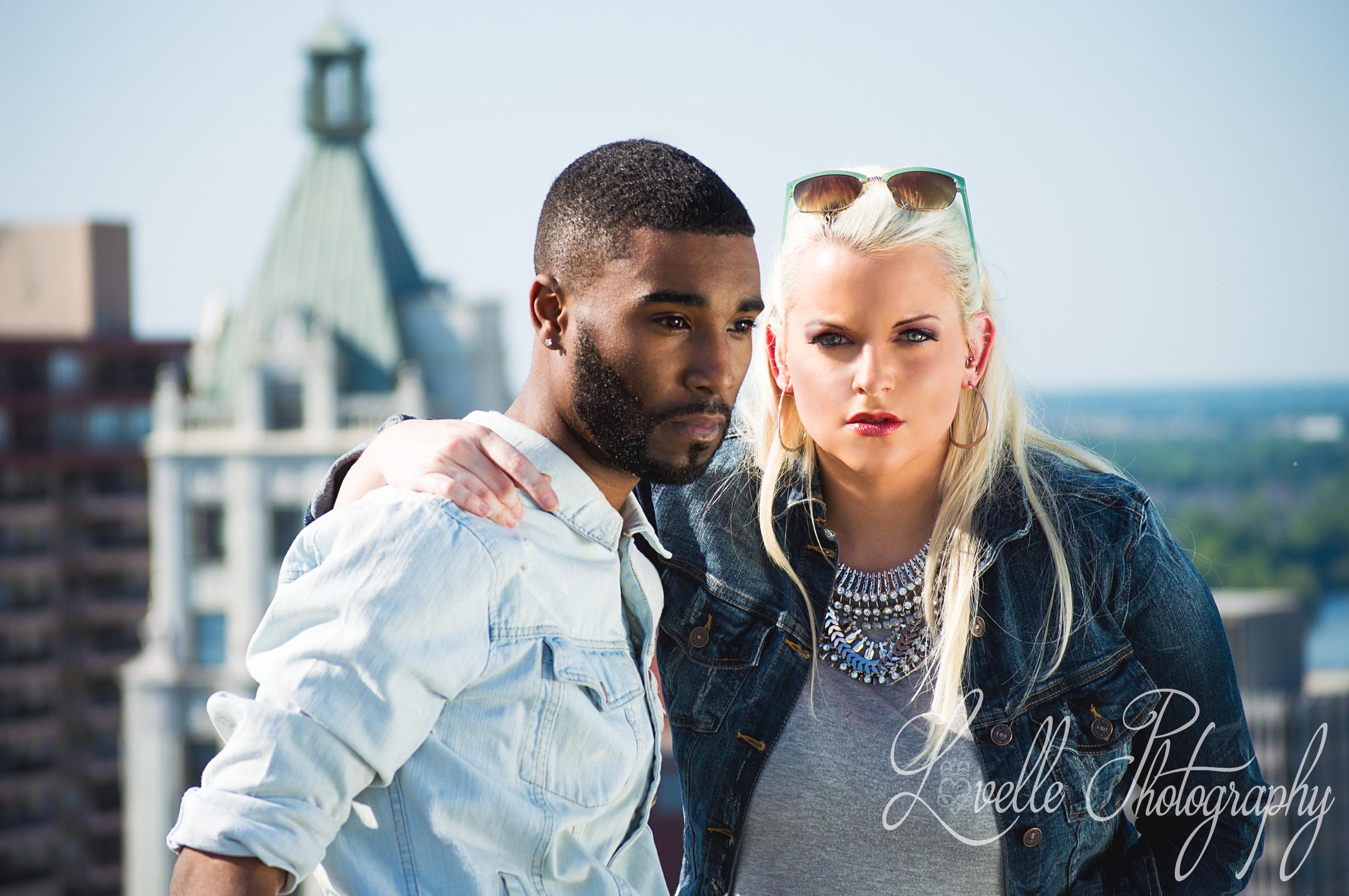 Model: Grant Kee and Candace Hadley  HMUA: Meghan J.