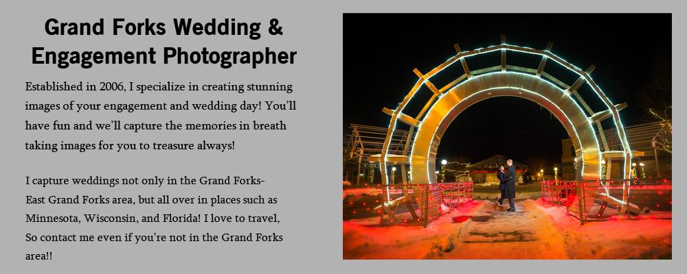 Grand Forks Wedding Engagement Photographer