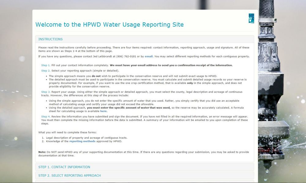 www.hpwd.org/reporting
